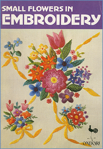 Small Flowers in Embroidery cover